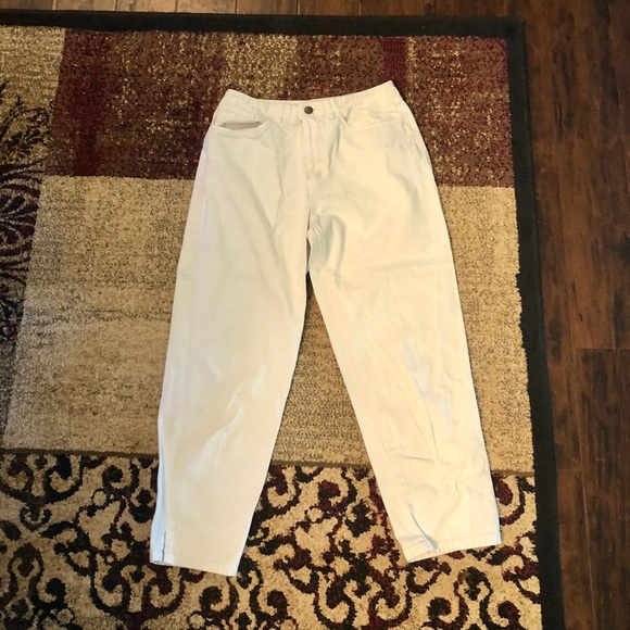 Talbots Denim - White cropped Talbots jeans